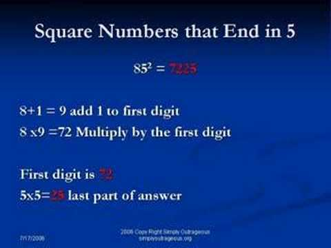 Simply Outrageous Math