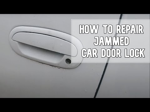 How to repair jammed car door lock DIY video #diy #ford #jammedlock #key