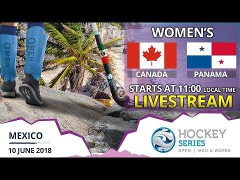Canada v Panama   Women's Hockey Series Open   FULL MATCH LIVESTREAM