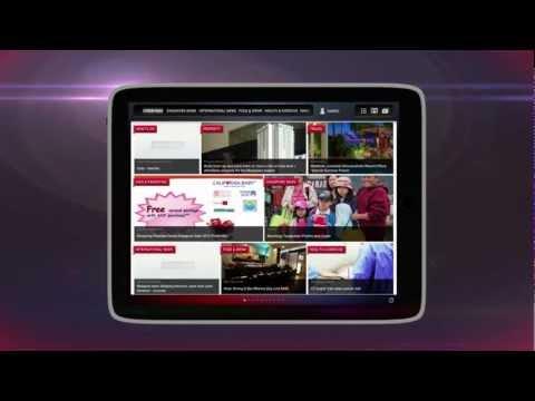 NewsLoop for iPad -- Your Local News iPad Magazine