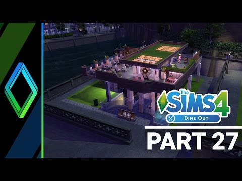 Sims 4 Dine Out Let's Play - Part 27