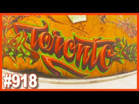 CAROL & KEN'S MINI VACATION DAY 2 - GRAFFITI ALLEY TORONTO