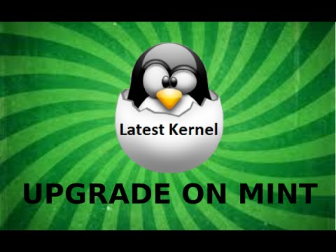 How to upgrade Linux Mint's Kernel to the latest available