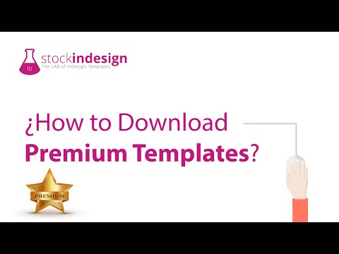 How to Download InDesign Premium Templates?