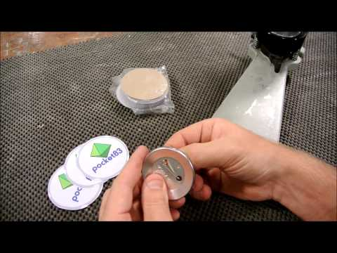 Branding, button badge magnet making, and marketing