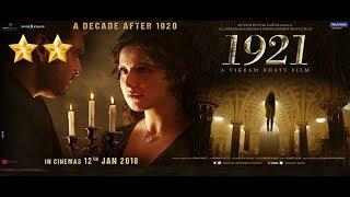 1921 | Hindi Review | zareen khan | Karan kandrra | bollywood jockey | smart bollywood