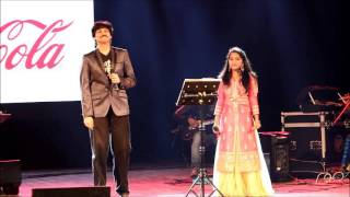 Ankita singing O Meghave with Rajesh Krishnan