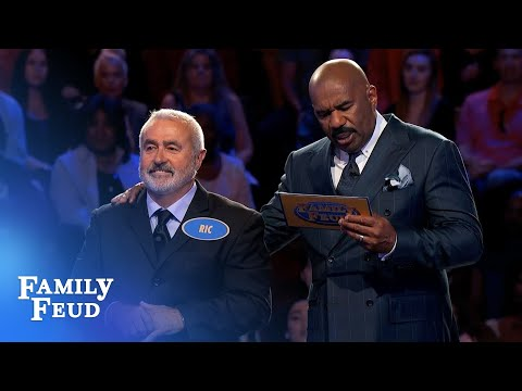 Final answer... Ric needs 27 points! | Family Feud