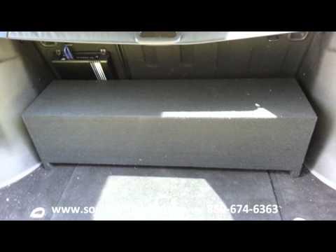UNIVERSAL Sport Utility Vehicle SUB BOX BY SOUNDOFFAUDIO