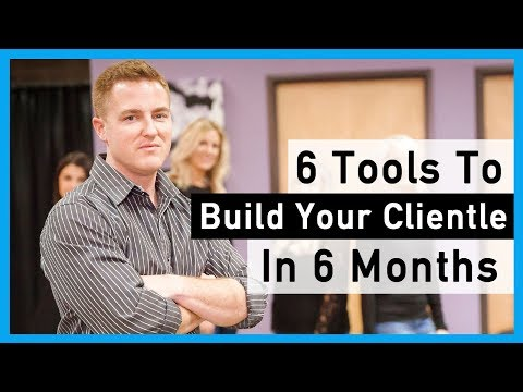 Salon Business Plan - How to build a clientele in 6 months