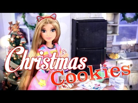 DIY - Craft - How to Make: Doll Christmas Cookies - Holiday Gift Ideas - 4K