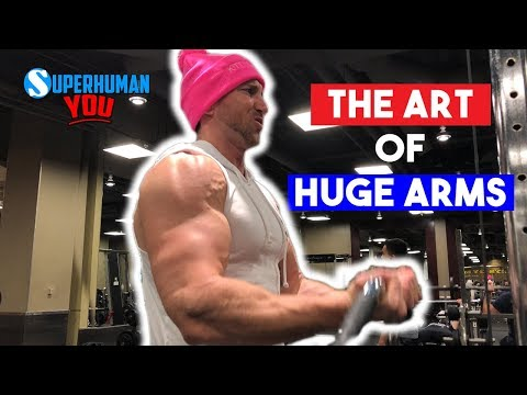 The ART Of Getting HUGE Arms FASTER | Gain 2'' Biceps + Triceps