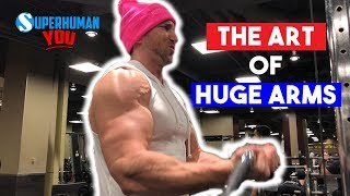 The ART Of Getting HUGE Arms FASTER | Gain 2