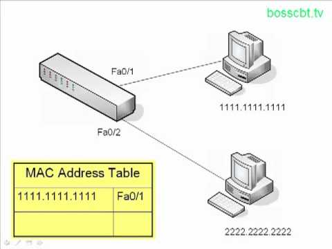 CCNA How Switches Learn MAC Addresses