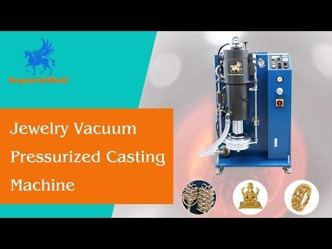 Gold Silver Brass vacuum pressurized casting machine for jewelry design