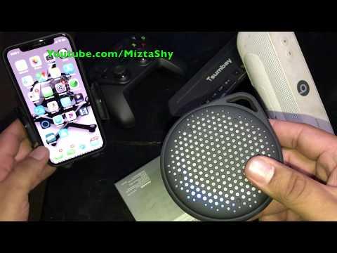 20$ Waterproof Bluetooth Speaker