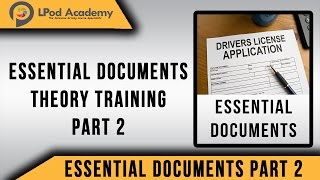 Driving Theory Test Questions and Answers 2018 - Essential Documents