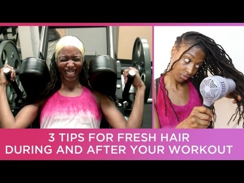 3 Tips for Fresh Clean Locs During & After Your Workout