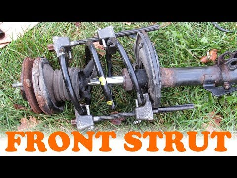 Toyota Front Strut & Mount Replacement
