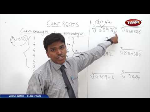 Cube roots in Vedic maths | Speed Maths | Vedic Mathematics