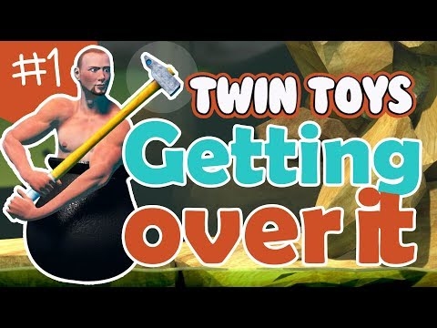 Twin Toys Plays Getting Over it!  This Game is Impossible!