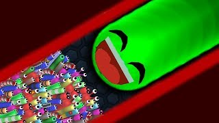 Download Slither.io 1 Troll Giant Snake vs 97779 Tiny Snakes Epic Slitherio Gameplay! Video