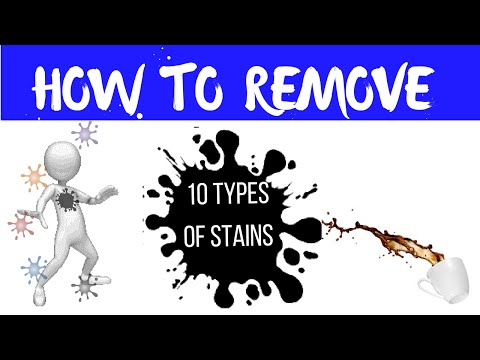 How To Remove Stains From Clothes Without Washing | 10 Stain Removal Ideas