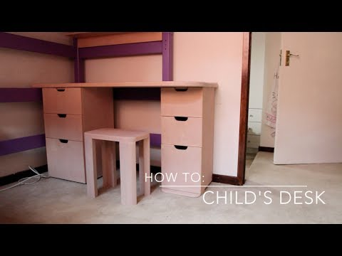 How to: Child's Desk