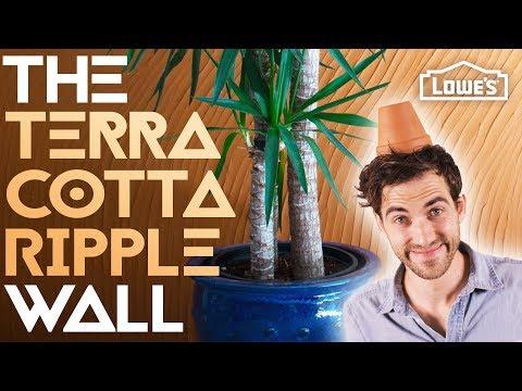 THE TERRA COTTA RIPPLE WALL /// Experiment #006