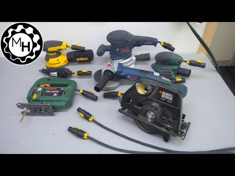 A Quick Connection System for Power Tools