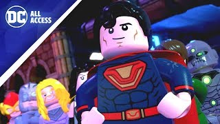 LEGO DC SUPER-VILLAINS: See Owlman & Crime Syndicate + New Comics w/ Jim Lee