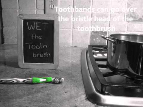 How to Use Your Toothband Writable Toothbrush Label
