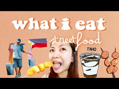 what i eat in a day  [streetfood] ⍣ day in the life in manila \\ TheWickeRmoss