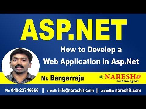How to Develop a Web Application in ASP.NET | ASP.NET Tutorials | Mr.Bangar Raju