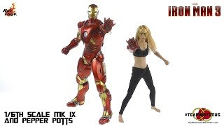 Download Hot Toys Iron Man 3 Pepper Potts and MK IX Review Video