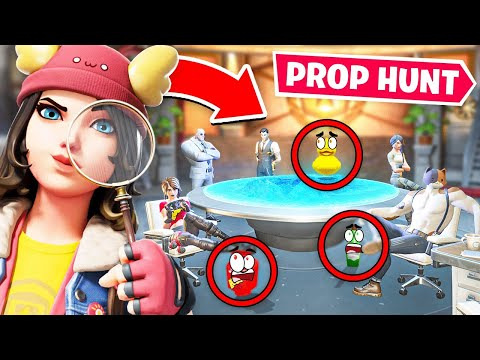 BATTLE PASS Prop Hunt Game Mode in Fortnite
