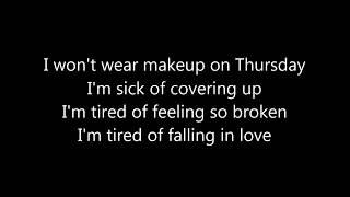 Jess Glynne  Thursday Lyrics
