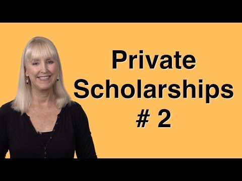 Private Scholarships -- Know the Rules!