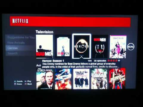 NETFLIX Canada PS3 Quick Review, Impressions & How It works