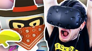 I GET ROBBED IN VR!! | Job Simulator