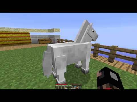 Minecraft 1.6.2 Update How To Tame A Horse
