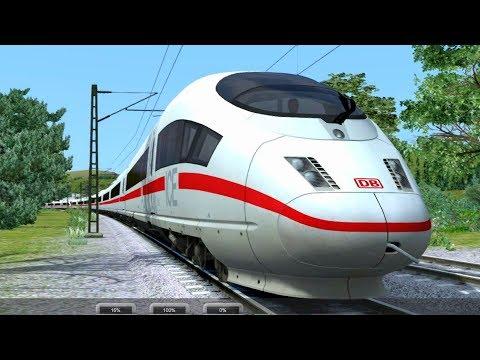 Microsoft Train Simulator Gameplay (PC HD)