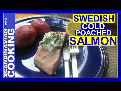 How To Make Swedish Cold Poached Salmon for Midsummer 🎉 Kall inkokt lax