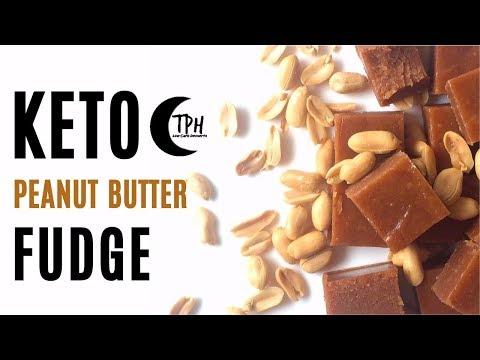 Keto Peanut Butter Fudge | Low-Carb Peanut Butter Fat Bomb Recipe | Sugar-Free Fudge