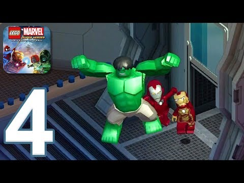 LEGO Marvel Super Heroes - Gameplay Walkthrough Part 4 (iOS, Android)