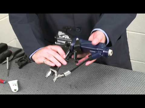 Pro Xp Electrostatic Air-Assisted Spray Gun - Assembly