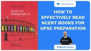 How to Effectively Read NCERT Books for UPSC Preparation | UPSC CSE/IAS 2020 | Sidharth Arora