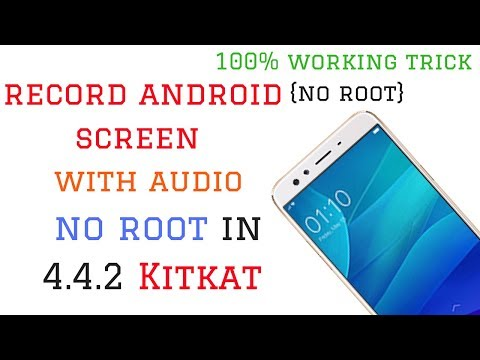 How to record android screen with internal audio no root in 4.4.2 [Techno Guru]