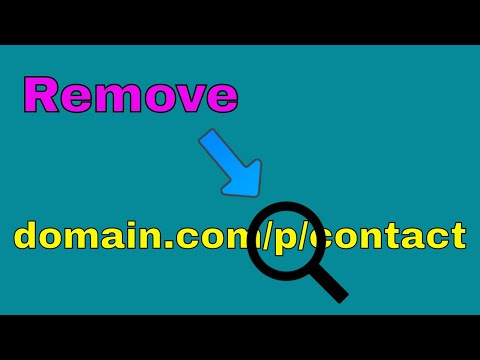How to Remove P from Blogger Page Links