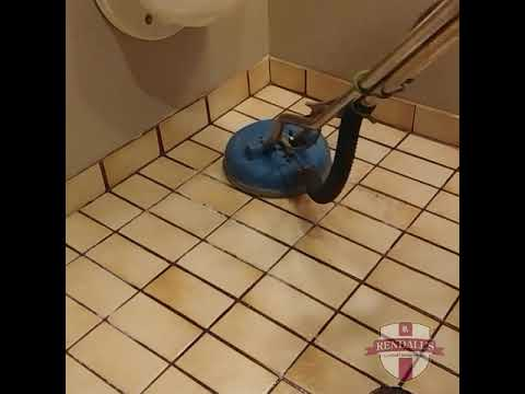 Dirty tile cleaning - Rendall's Cleaning